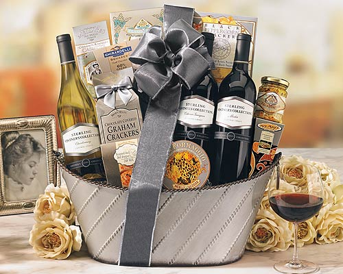 Image result for Great Wine Basket Ideas